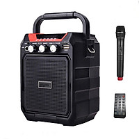 Loa bluetooth Xách Tay Trợ giảng S15 tặng kèm micro không dây hát karaoke,nghe đài Fm radio
