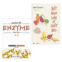 Combo 2 Cuốn Sách Hay Về Y Học: Nhân Tố Enzyme - Thực Hành (Tái Bản) + Bất Ngờ Lớn Về Chất Béo / Sách Chăm Sóc Sức Khỏe - Tặng Kèm Bookmark Happy Life