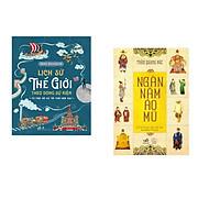 Combo 2 cuốn sách: Lịch sử thế giới theo dòng sự kiện + Ngàn năm áo mũ