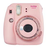 Máy Ảnh Selfie Lấy Liền Fujifilm Instax Mini 9 Clear Pink - Hàng Chính Hãng