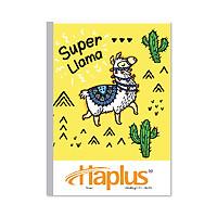 Lốc 10 Vở kẻ ngang Haplus - Time (80, 120, 200 trang) (Giao màu ngẫu nhiên)