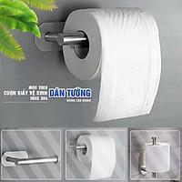 Móc treo cuộn giấy vệ sinh dán tường không cần khoan, Inox Sus 304, phụ kiện nhà tắm MIHOCO 814