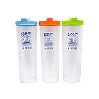 Bộ 3 Bình dự trữ nước tiện dụng mang đi học (1L ) giao màu ngẫu nhiên - Hàng nội địa Nhật