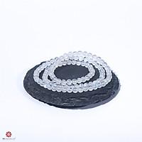 Vòng tay đá mặt trăng Moonstone 5mm tự nhiên quấn 3 lines thời trang - Hợp mệnh Kim, Thủy | VietGemstones