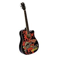 Đàn Guitar Acoustic Caravan Music HS4150BK