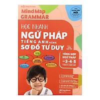 Mindmap Grammar - Học Nhanh Ngữ Pháp Tiếng Anh Bằng Sơ Đồ Tư Duy (Tổng Hợp Ngữ Pháp Lớp 3-4-5 Theo Chủ Đề)