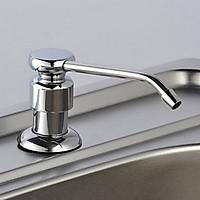 Bình đựng xà bông, bình đựng nước rửa chén gắn bồn rửa bằng inox, tiện lợi