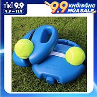 Dụng cụ tập bóng tennis tại nhà với dây buộc hỗ trợ co giãn