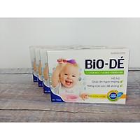 04 Hộp BIO-DÉ, Siro ăn ngon cho bé từ thảo dược, hỗ trợ cho trẻ biếng ăn, hay ốm, giúp cải thiện tận gốc khả năng ăn uống ở trẻ, giúp bổ máu, tăng cường để kháng, bé ăn ngon hơn, tiêu hóa khỏe, giúp tăng cân cho bé