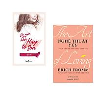 Combo 2 cuốn sách:  Đời ngắn đừng khóc hãy tô son + Nghệ Thuật Yêu