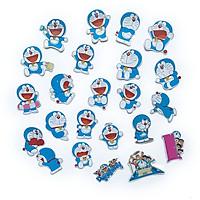 Bộ 20 Sticker Doraemon Tặng Thêm 3 Hình Nhóm Bạn Nobita Shizuka Suneo Gian Hình Dán Chủ Đề Máy Dễ Thương Cute Chống Nước Decal Chất Lượng Cao Trang Trí Va Ly Du Lịch Xe Đạp Xe Máy Xe Điện Motor Laptop Nón Bảo Hiểm Máy Tính Học Sinh Tủ Quần Áo