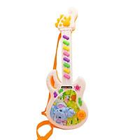 Đồ Chơi Guitar Điện Trẻ Em Cho Bé Chơi Và Học Nhạc