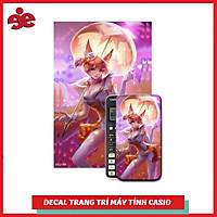 Decal Trang Trí Máy Tính Casio / Vinacal Game Liên Quân 098