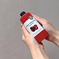 """Sữa Rửa Mặt Sủi Bọt Khí """"3 in 1"""" Tẩy Trang - Rửa Mặt - Thải Độc Tố Wonder Bath Super Vegitoks Cleanser 300ml (Màu đỏ - Dưỡng sáng da)"""