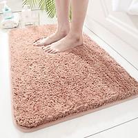 Thảm chùi chân trơn màu lông mềm siêu thấm nước (lau chân) - TLC021