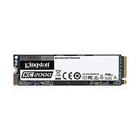 Ổ cứng SSD Kingston KC2000 M.2 PCIe Gen3 x4 NVMe 250GB SKC2000M8/250G - Hàng Chính Hãng