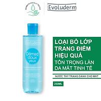 Tẩy trang dịu nhẹ cho mắt Evoluderm 250ml - 3035