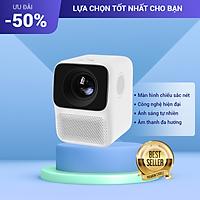 Máy Chiếu FullHD 1080P Kết Nối Wifi, Điện Thoại Tiện Lợi Màn Hình Chiếu Lớn, Hình Ảnh Sắc Nét Đi Kèm Bộ Nguồn Và Điều Khiển Từ Xa (Bản Quôc Tế)