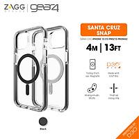 Ốp lưng chống sốc Gear4 D3O Santa Cruz Snap 4m hỗ trợ sạc Magsafe cho iPhone 13 series - Hàng chính hãng