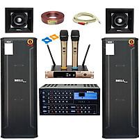 Trọn bộ dàn karaoke gia đình PRO - 1506 KM BellPlus (hàng chính hãng)