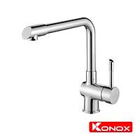 Vòi rửa bát Konox, Model KN1205 , Inox 304AISI tiêu chuẩn châu Âu, mạ PVD 5 lớp sáng bóng Hàng chính hãng