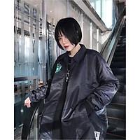 Áo khoác dù chống nắng 123SHOP dành cho cặp đôi nam nữ in hình THEZED Jacket form rộng 2 màu unisex ulzzang