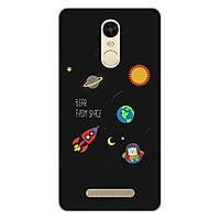 Ốp lưng dẻo cho điện thoại Xiaomi Redmi Note 3 _0510 SPACE06 - Hàng Chính Hãng