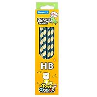 Hộp 12 Bút Chì Định Vị Tourgroups HB - Guangbo-H06007 - Mẫu 2 - Hộp Màu Vàng