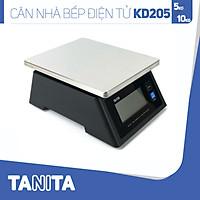 Cân điện tử nhà bếp chống nước TANITA KD205, 5kg(0.5g),10kg(1g) (Chính hãng Nhật Bản), Cân thức ăn 10kg, Cân thực phẩm 5kg, Cân nhà bếp 10kg, Cân Nhật, Cân trọng lượng, Cân chính hãng, Cân thực phẩm, Cân thức ăn, Cân chính xác, Cân làm bánh