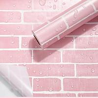 Giấy dán tường - Decal dán tường cuộn 10m x 0.45m có keo sẵn, chống nước - Hàng chính hãng