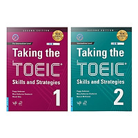 Sách - Combo 2 Cuốn Taking The TOEIC - Skills and Strategies 1 + 2 (Kèm 1MP3)