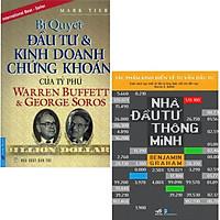 Sách - 2 cuốn Bí Quyết Đầu Tư Và Kinh Doanh Chứng Khoán Của Tỷ Phú Warren Buffett Và Nhà Đầu Tư Thông Minh(lẻ tuỳ chọn)