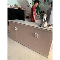 Tủ bếp nhựa đài loan có bồn rửa 164x80(TPHCM)