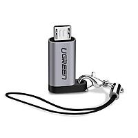 Đầu chuyển đổi Micro USB sang USB Type C Ugreen 50590 - Hàng chính hãng