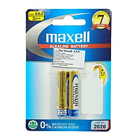 Pin Maxell Alkaline AAA 1.5V (2 Viên)