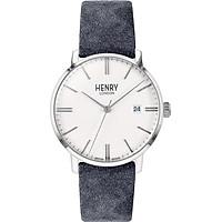 Đồng Hồ Unisex Henry London HL40-S-0351 - Dây Da