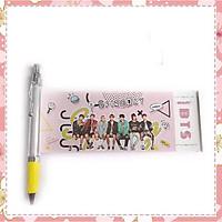 Bút kéo BTS in hình nhóm BTS idol nhiều mẫu