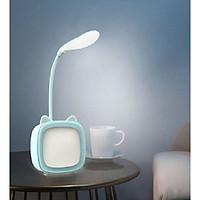 Đèn Led Để Bàn Học Sạc USB Hình Lá - Màu Ngẫu Nhiên