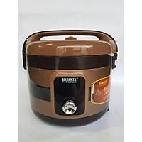 NỒI CƠM ĐIỆN Lorente LT8012, 1.2L, Lòng nặng Ceramic chống xước, chống dính, 500W.  - Hàng chính hãng