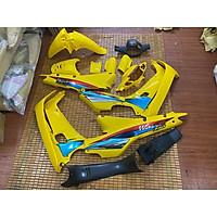 Dàn áo dành cho Honda Wave màu Vàng loại 1