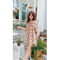 Đầm hoạ tiết trái tim Choco Dress Gem Clothing SP060514