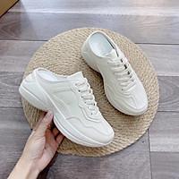 Giày sục thể thao độn đế