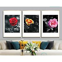 Tranh hoa hồng siêu đẹp - Tranh canvas
