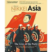 Nikkei Asian Review: Nikkei Asia - 2021: THE LIVES OF THE PARTY - 27.21 tạp chí kinh tế nước ngoài, nhập khẩu từ Singapore