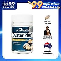 Tinh chất hàu New Zealand Good Health Oyster Plus tăng cường sinh lý nam giới   3wolves