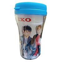 Ly cách nhiệt cốc uống nước in hình EXO
