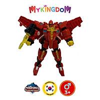 Đồ Chơi Mô Hình MINIFORCE Robot Siêu Khủng Long Preta Hỏa Thần Cùng Siêu Nhân Sammy Lé 304035