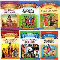 Combo 6 cuốn Kể Chuyện Các Chủ Đề (tặng kèm 3 bút bi hình ngộ nghĩnh)