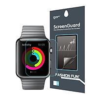 Dán màn hình Apple Watch 42mm dán dẻo full màn hình cảm ứng mượt  Gor