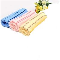Combo 3 khăn lông màu 1m cho bé_ngẫu nhiên